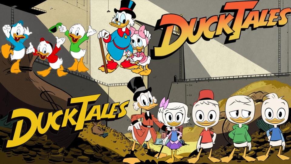 Ducktales avventure di paperi il cartone animato