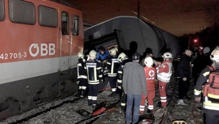 incidente ferroviario austria