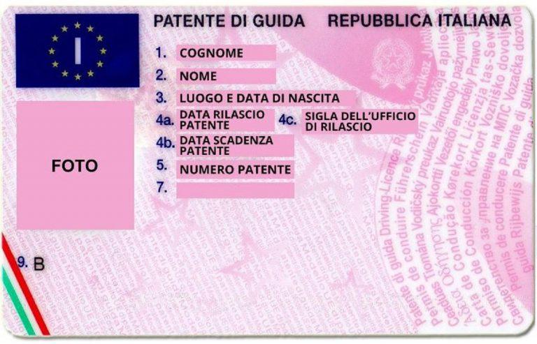 numero patente guida 768x493