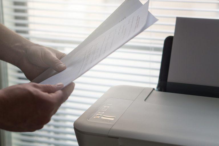 mandare un fax