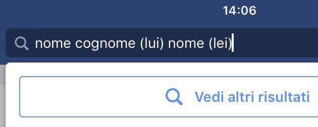Ricerca FB