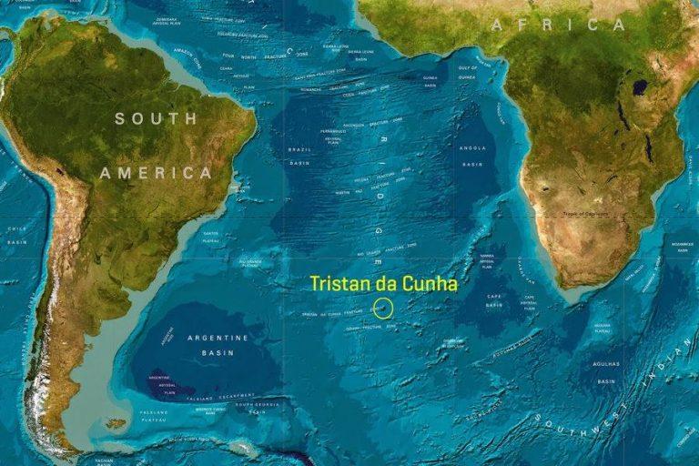 Posizione geografica dell'isola