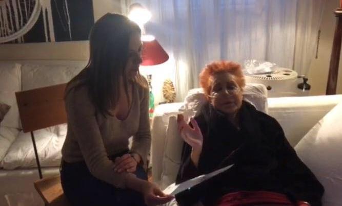 Con Maria Antonietta Farina