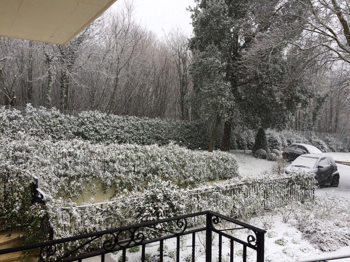 Nevica a Roma