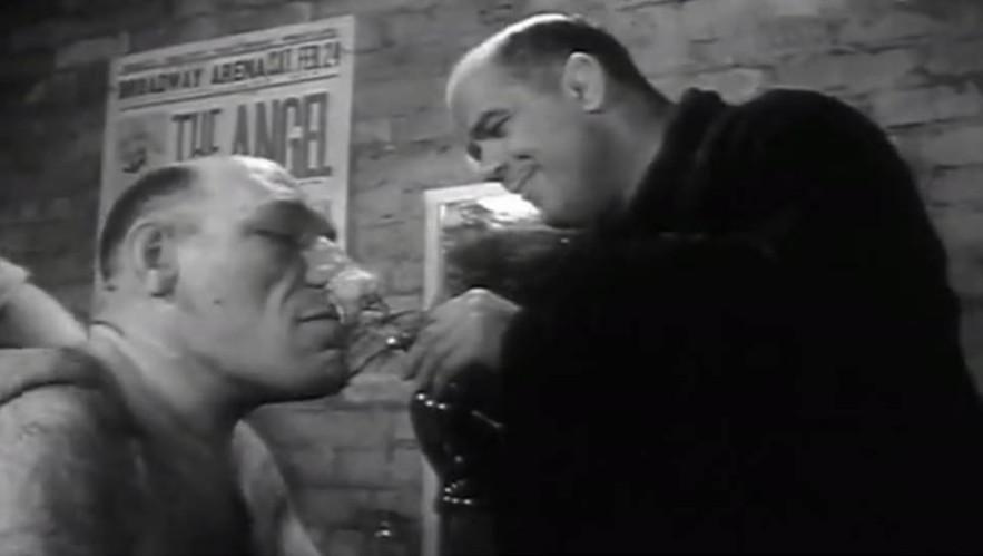 Maurice Tillet e Karl Pojello