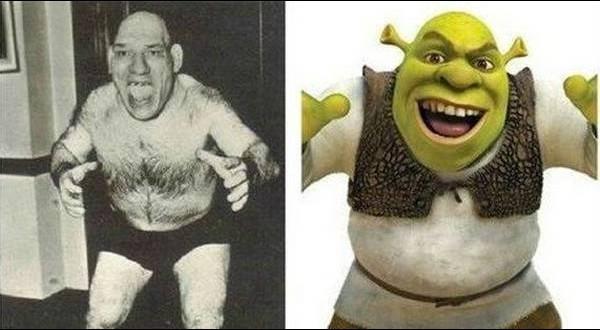 Tillet e Shrek