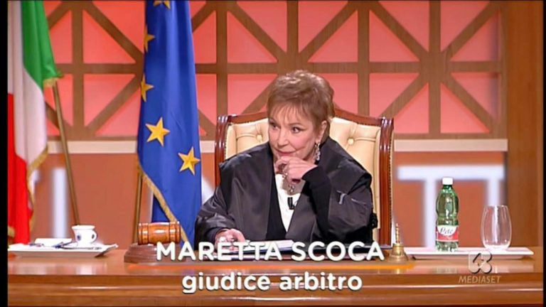 Maretta Scoca, giudice di Forum, è morta: tv in lutto