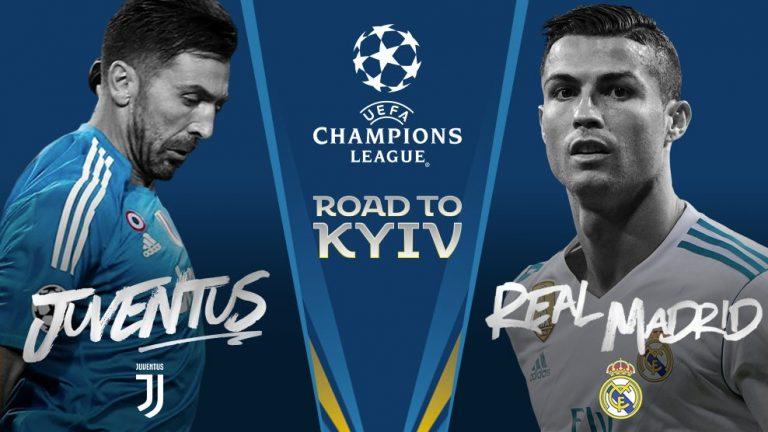 juventus real madrid champions