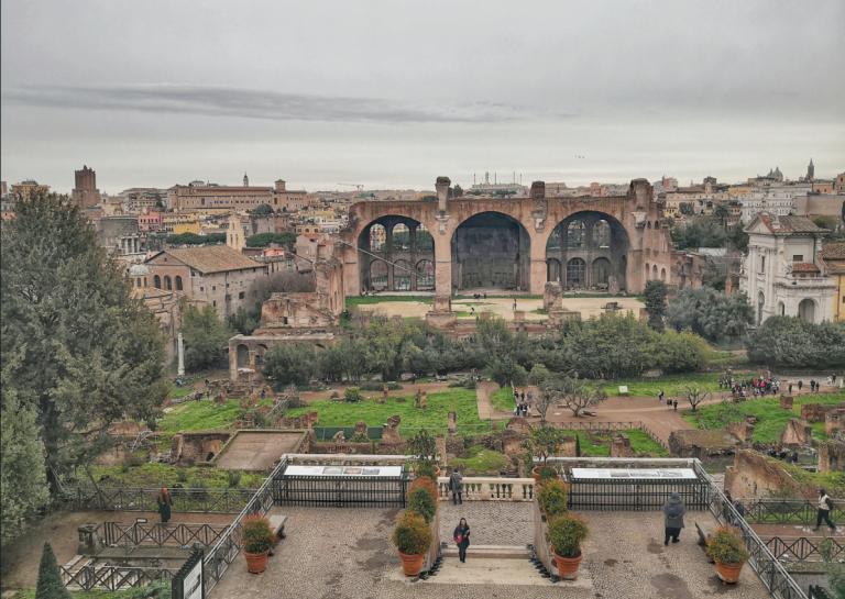 roma giardino segreto