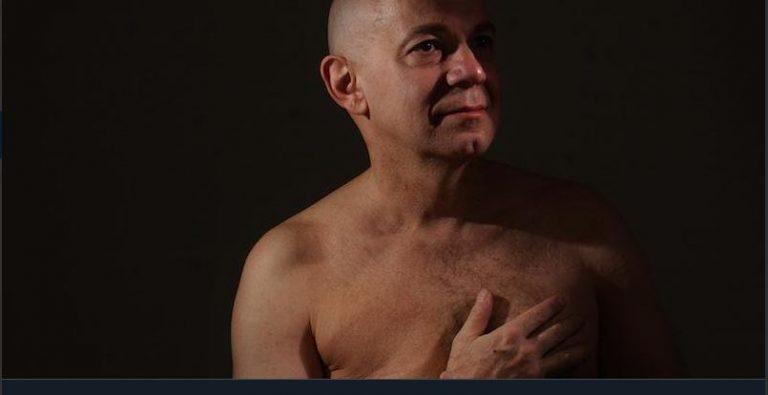 Uomo con tumore al seno: il caso di Stefano Saldarelli
