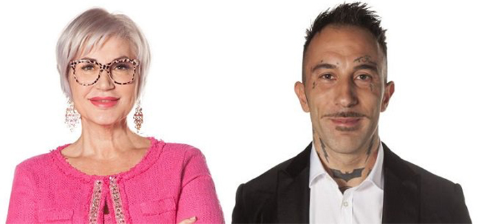 Lucia Bramieri e Simone Coccia