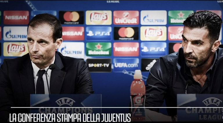 Conferenza stampa Real Madrid - Juventus