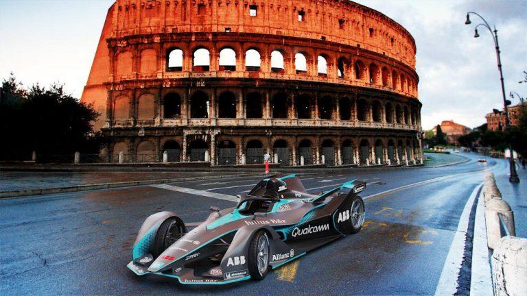 Formula E a Roma 14 aprile