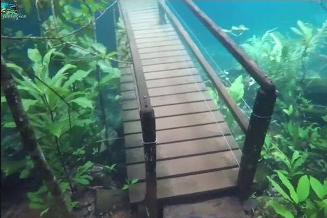 Recanto ponte sommerso