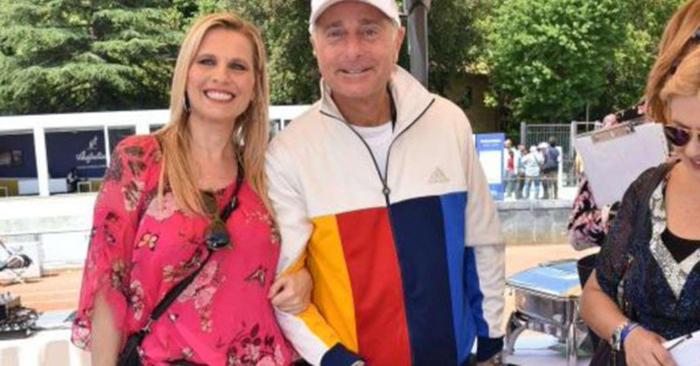 Paolo Bonolis con Laura Freddi