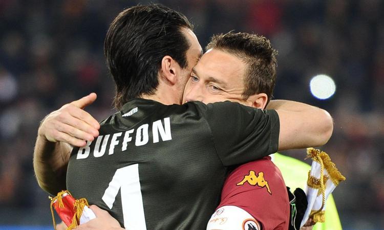 Totti e Buffon