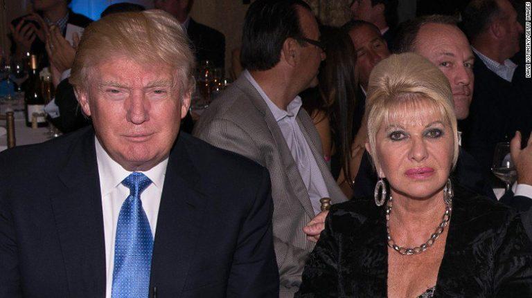 Ivana Trump danza con Rossano Rubicondi a