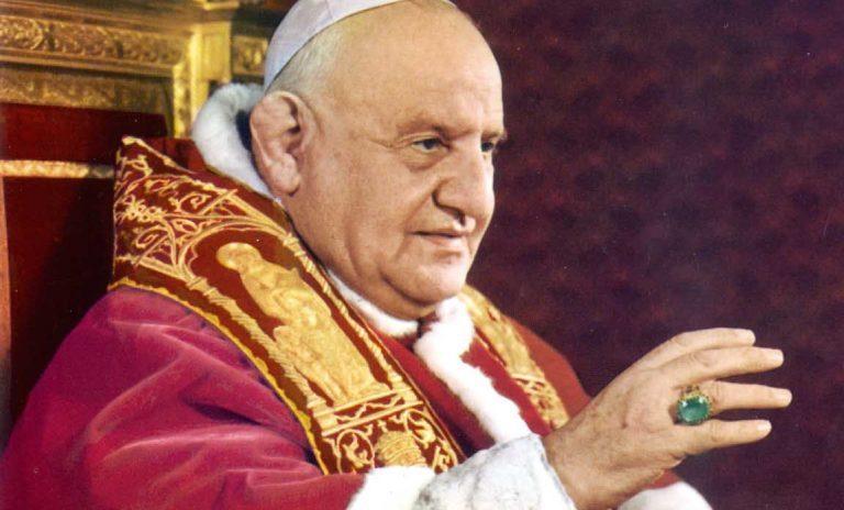 Mani deformate di Giovanni XXIII