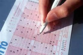 Scheda lotteria