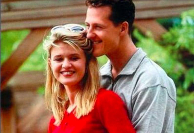 Michael Schumacher con la figlia Gina Maria