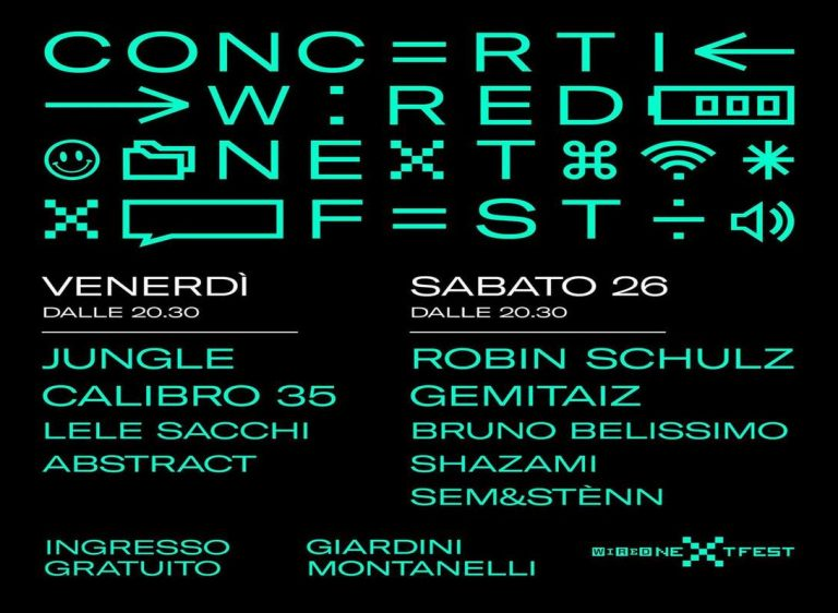 Wired Next Fest 2018, programma e relatori