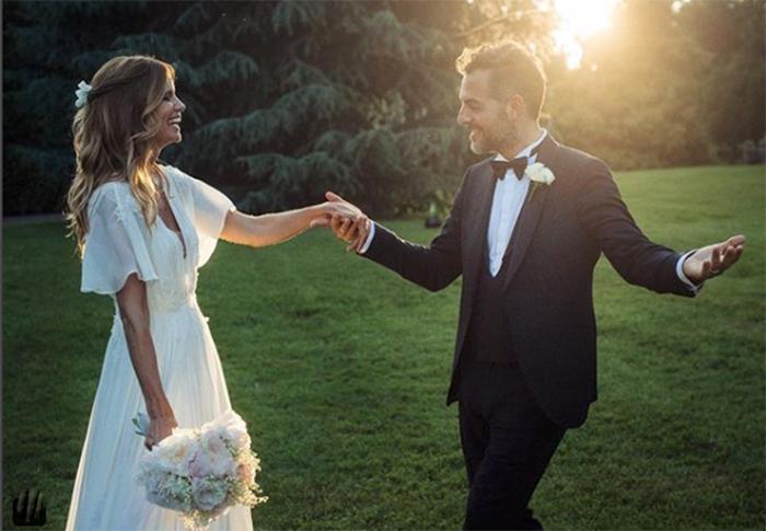 Matrimonio di Filippa Lagerback e Daniele Bossari