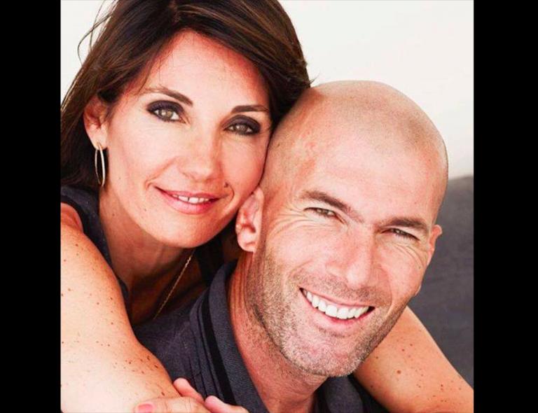 Veronique Fernande e Zinedine Zidane
