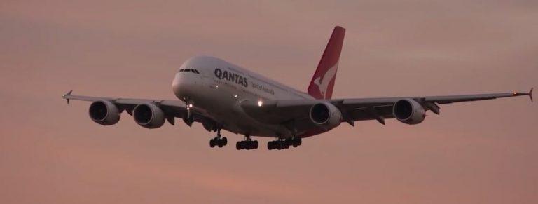 Donna morta su un volo aereo in Australia