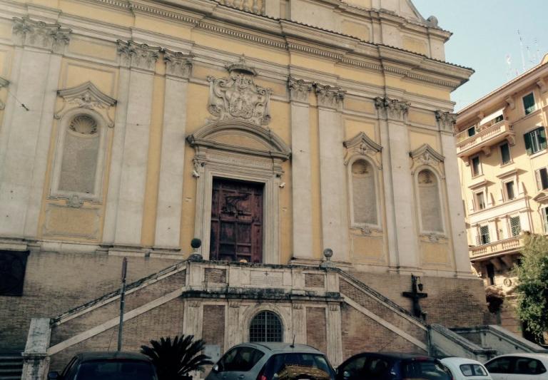 bomba in chiesa