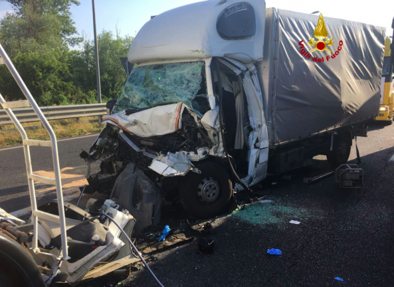 Incidente in autostrada a Portogruaro