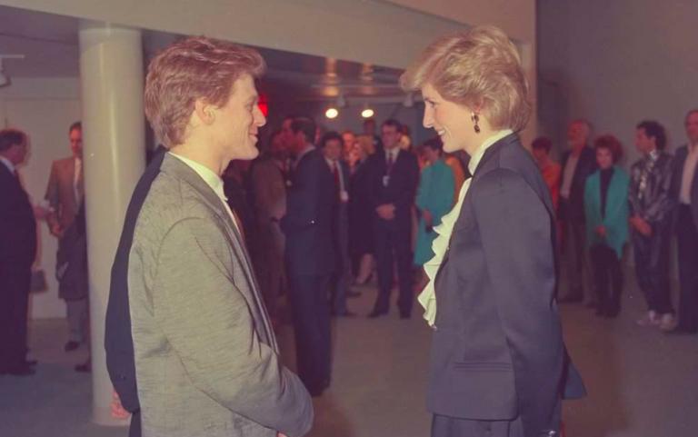 Diana incontra Bryan Adams