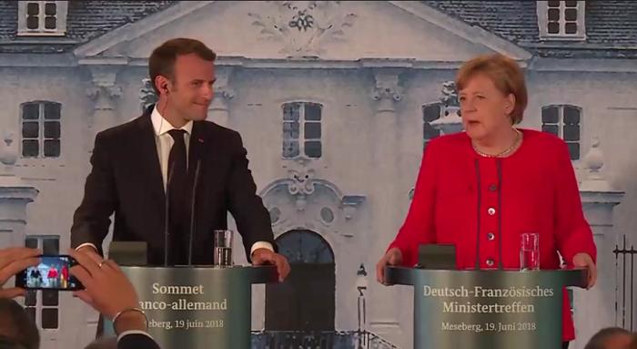 Macron Merkel migranti