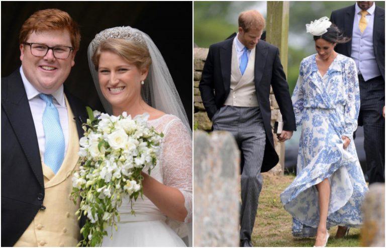 Meghan e Harry alle nozze della nipote di Diana