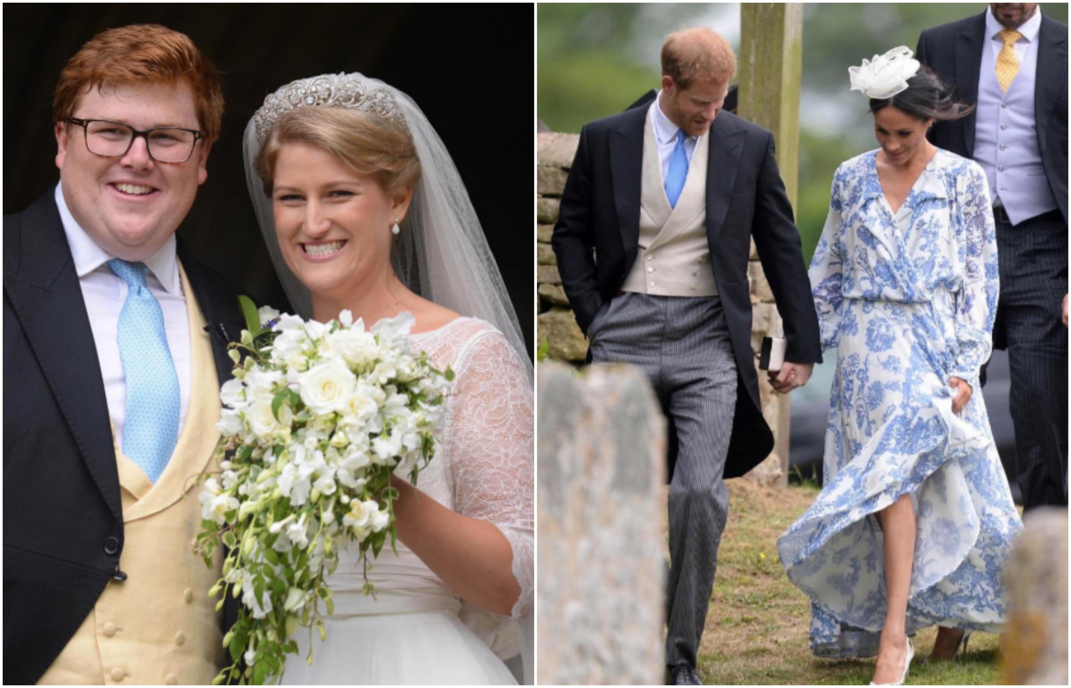Matrimonio Megan E Harry : Meghan e harry al matrimonio di celia mrcorquodale