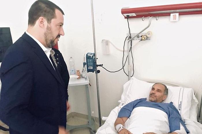Salvini taser