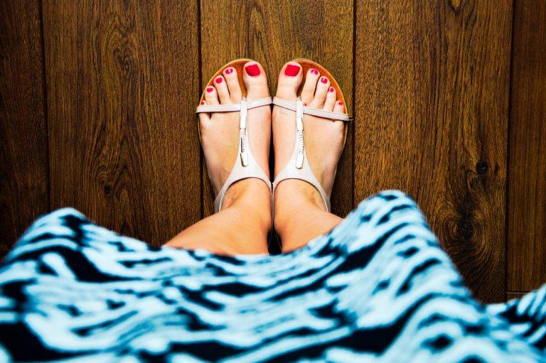 Sandali estivi.