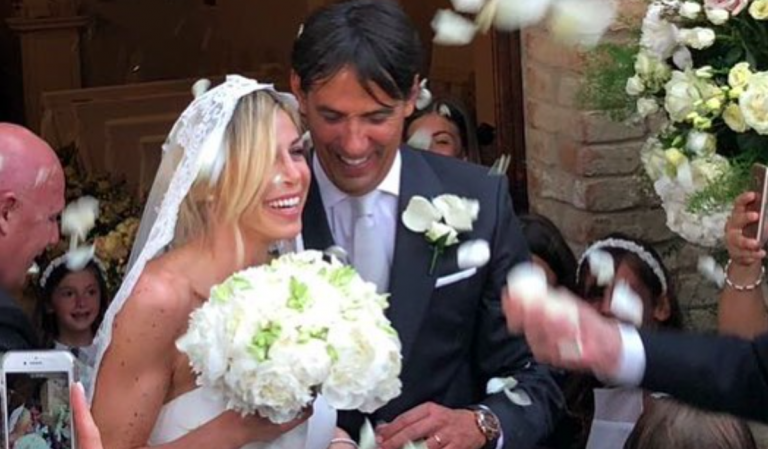 Il matrimonio di Simone Inzaghi