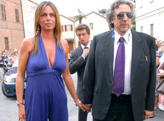 Paola Perego con Lucio Presta