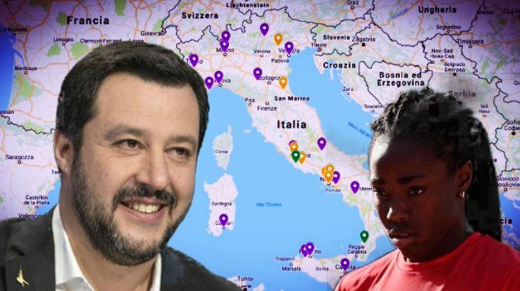 Aggressioni di stampo razzista in Italia