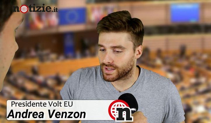 Andrea Venzon, presidente Volt Europa