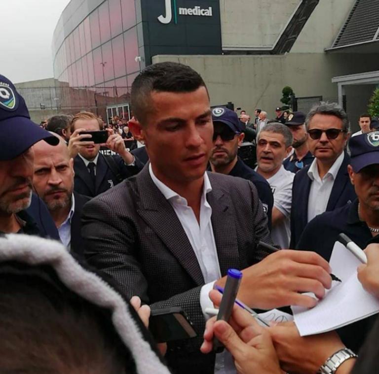 Cristiano Ronaldo Day: il fuoriclasse a Torino