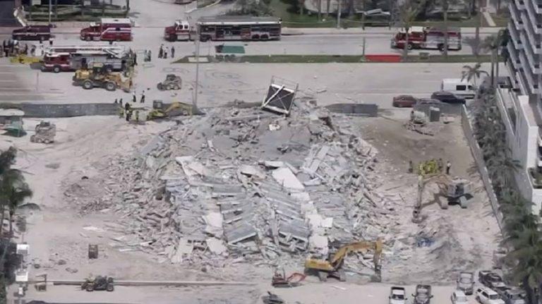 Crollato palazzo di 12 piani a Miami Beach