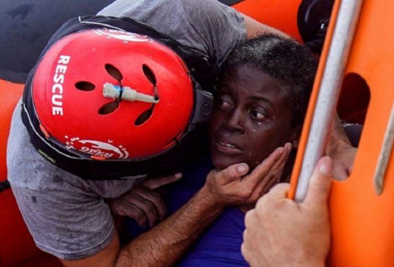 Josefa, la donna salvata dalle acque del Mediterraneo