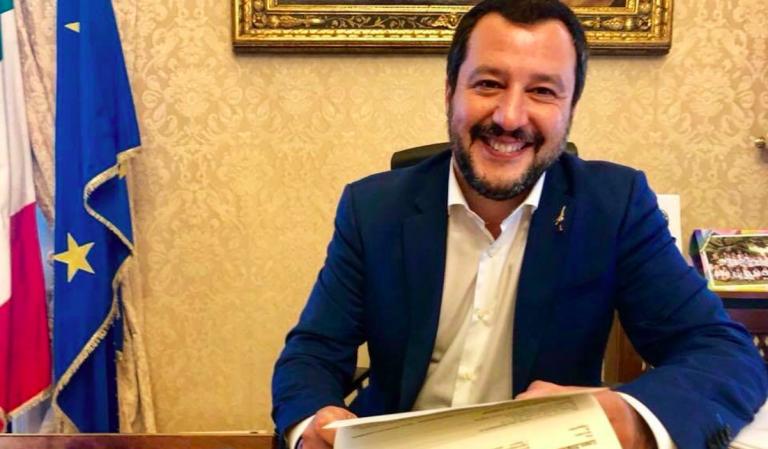 Salvini intervistato dal Times