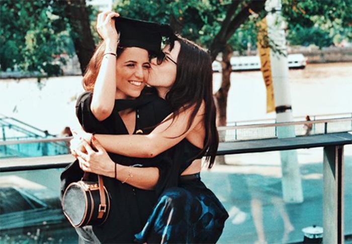 Aurora Ramazzotti con Sara DanieleAurora Ramazzotti con Sara Daniele