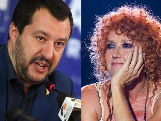 """Fiorella Mannoia contro Salvini. Il ministro risponde: """"Canta che ti passa"""""""
