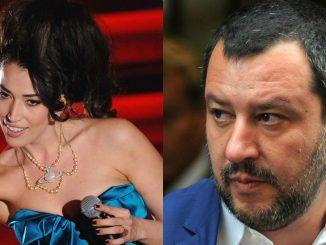 """Nina Zilli contro il leader della Lega: """"Fan**** Salvini"""""""