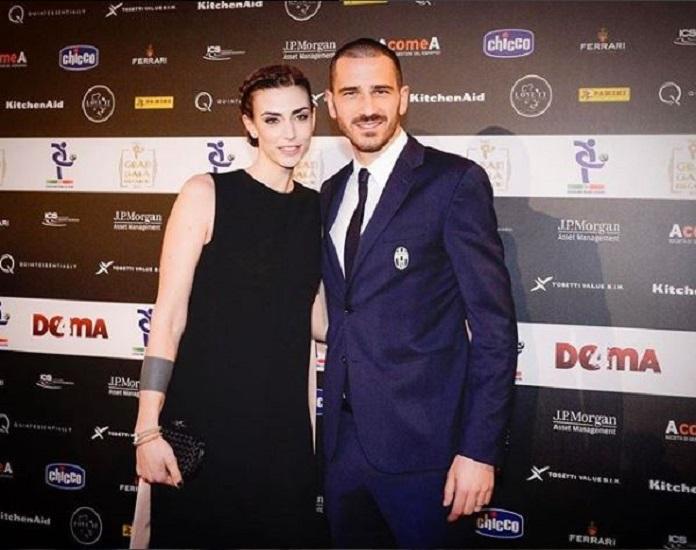 Martina Maccari e Leonardo Bonucci