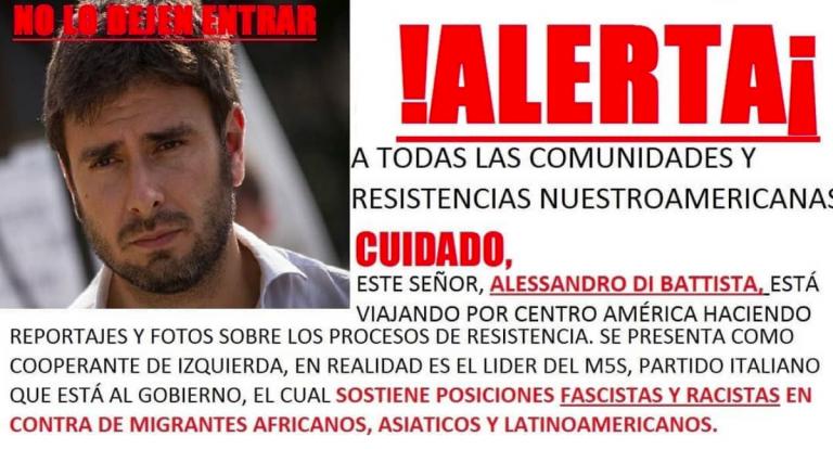 America Latina, tempi duri per Di Battista: bersagliato dai social