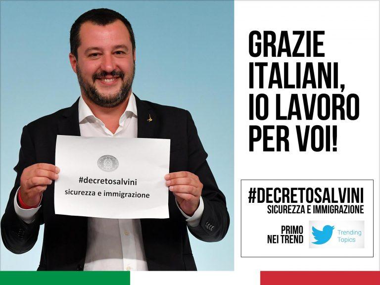 Approvato decreto Salvini